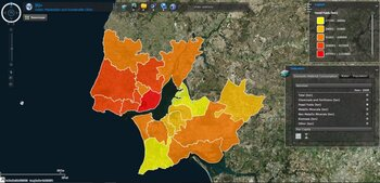 Direct Material Consumption and Water use in Lisbon