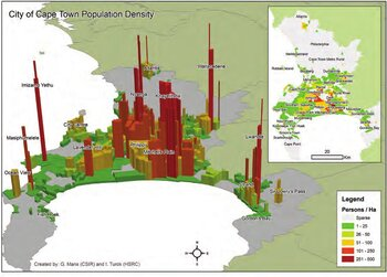 Cape Town Population Density